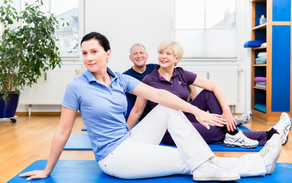 Posture-Improving Exercises for Physical Therapy Patients